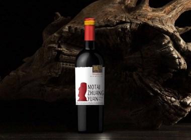 红酒包装设计-酒标