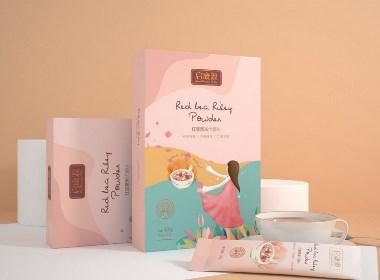 包装设计 代餐粉包装设计 健康食品包装设计 | 广州领秀原创作品