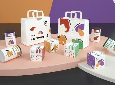 《Forever18 代早餐》五谷雜糧/即食麥片食品包裝設計