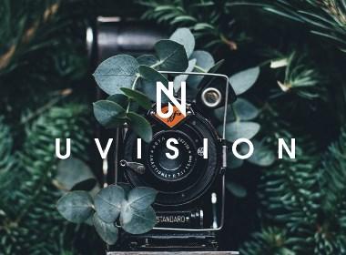 極簡先鋒攝影工作室品牌企業公司LOGO標志設計VI形象UV