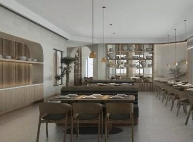 贵里听海-酒店餐厅空间设计