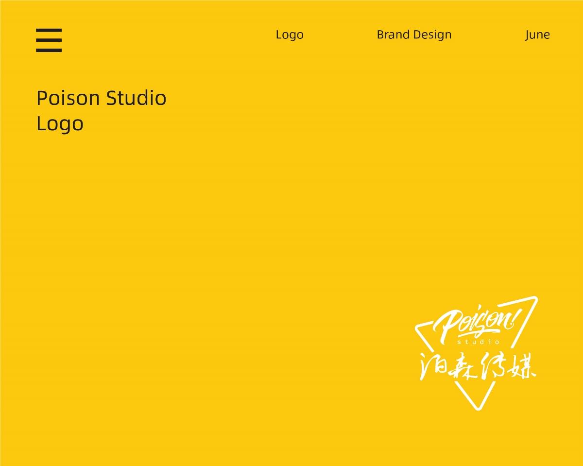 泊森传媒品牌设计案