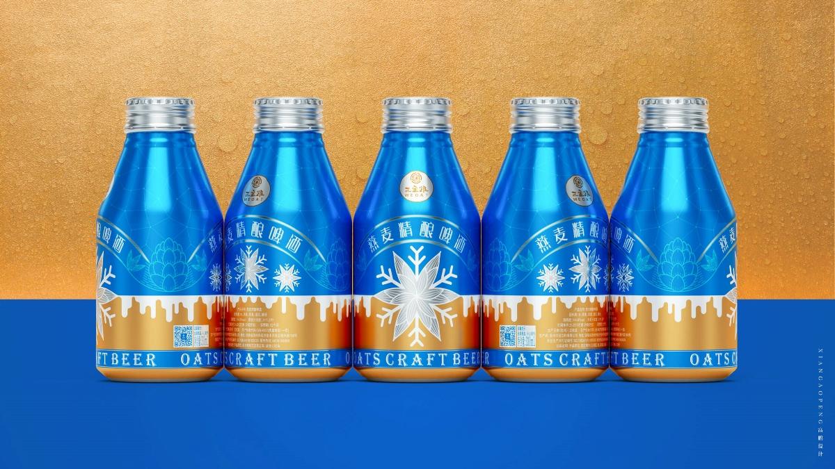 高鹏设计——精酿啤酒创意包装设计