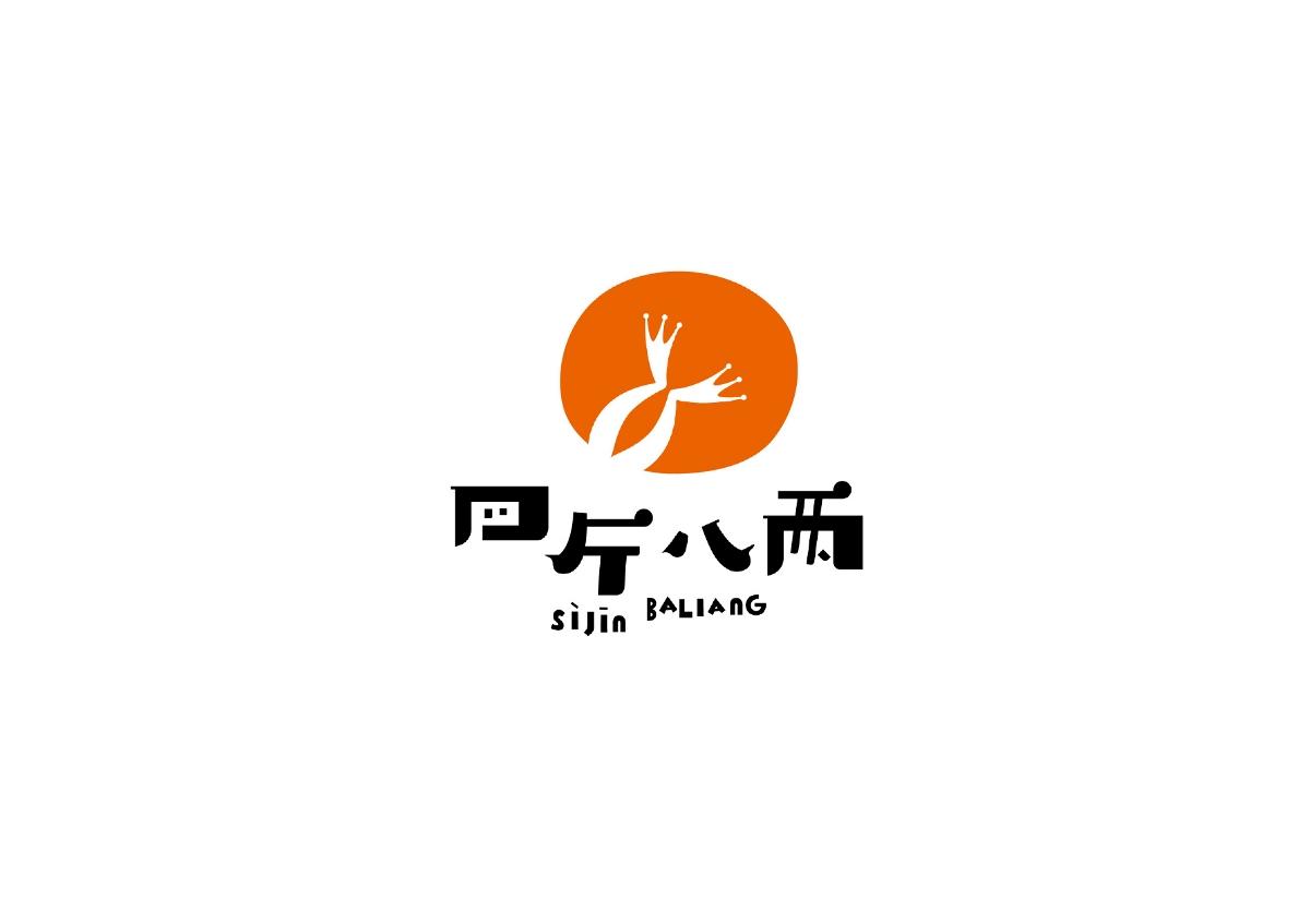 美蛙鱼头 餐厅 标志设计 品牌设计 logo
