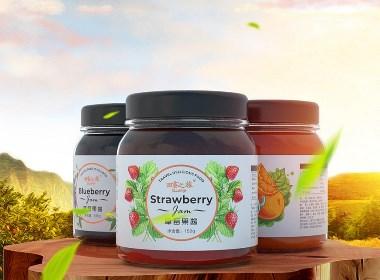 食品 果酱包装系列设计 | 广州领秀原创作品