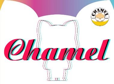 Chamel-俗气且油腻的盲盒柴犬玩偶