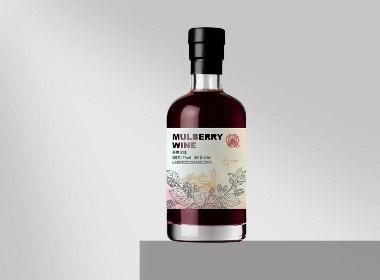 果酒-桑椹酒包裝設計