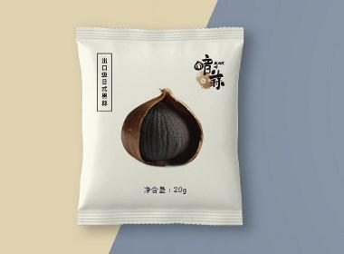 发酵黑蒜的一系列包装形式