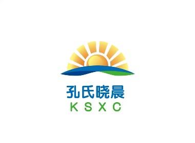 孔氏晓晨家居装饰品牌形象标志LOGO设计