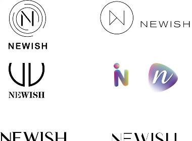 N字母 字体logo设计