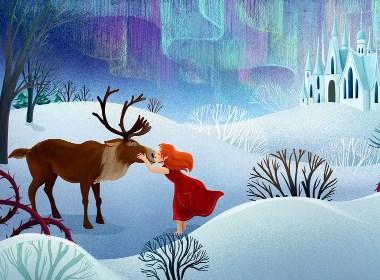 童话故事插画设计