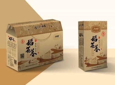 一款精品大米禮盒設計