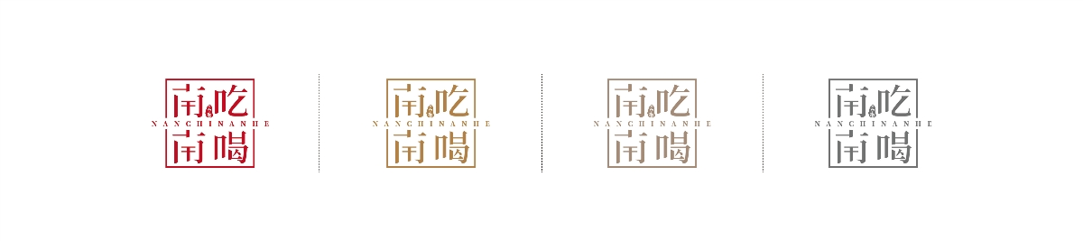 美食类logo
