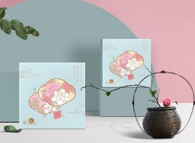 國潮月餅包裝中秋包裝茶葉鐵盒中國風禮品包裝食品包裝