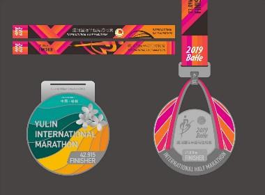 马拉松奖牌几枚