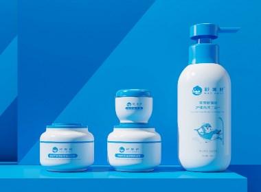 婴幼儿护肤品/直白品牌设计