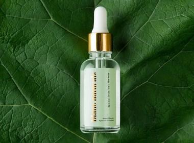 醒目的金箔效果:Blanc Naturals有机护肤品包装