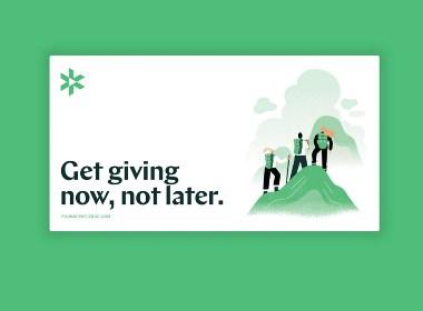 企业家组织Founders Pledge启动新logo及品牌形象