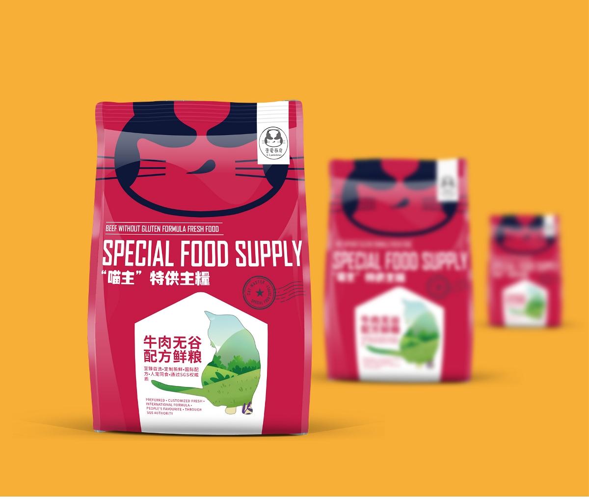 猫粮包装设计
