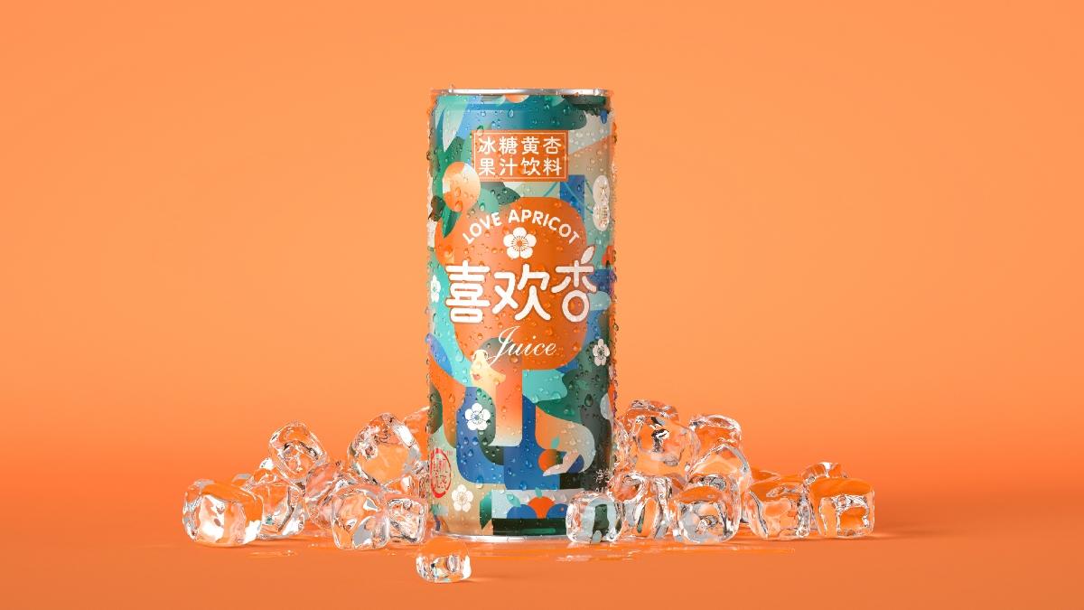 喜欢杏儿  |  果汁设计包装