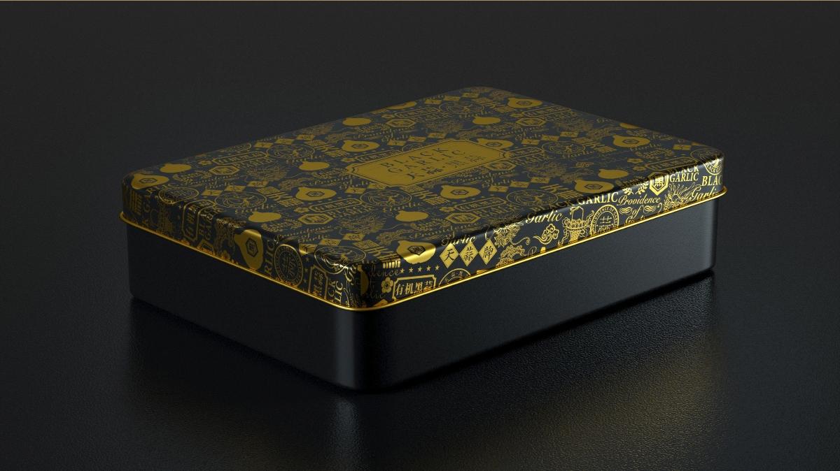黑蒜 | 礼盒包装设计