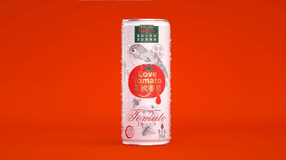 喜欢番茄 | 果汁包装设计