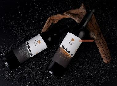 新疆國產紅酒品牌全案開發設計 酩疆紅酒品牌包裝設計 古一原創出品