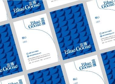 至力品牌包装设计—BlueGoose蓝雁 酒品牌VI与包装设计