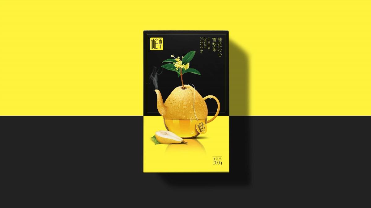 花果茶包裝設計