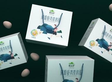雞蛋包裝設計 土雞蛋包裝設計 農產品包裝設計公司