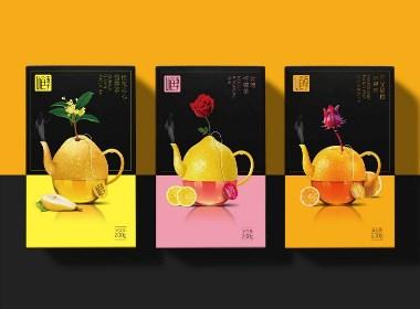 花果茶包装设计
