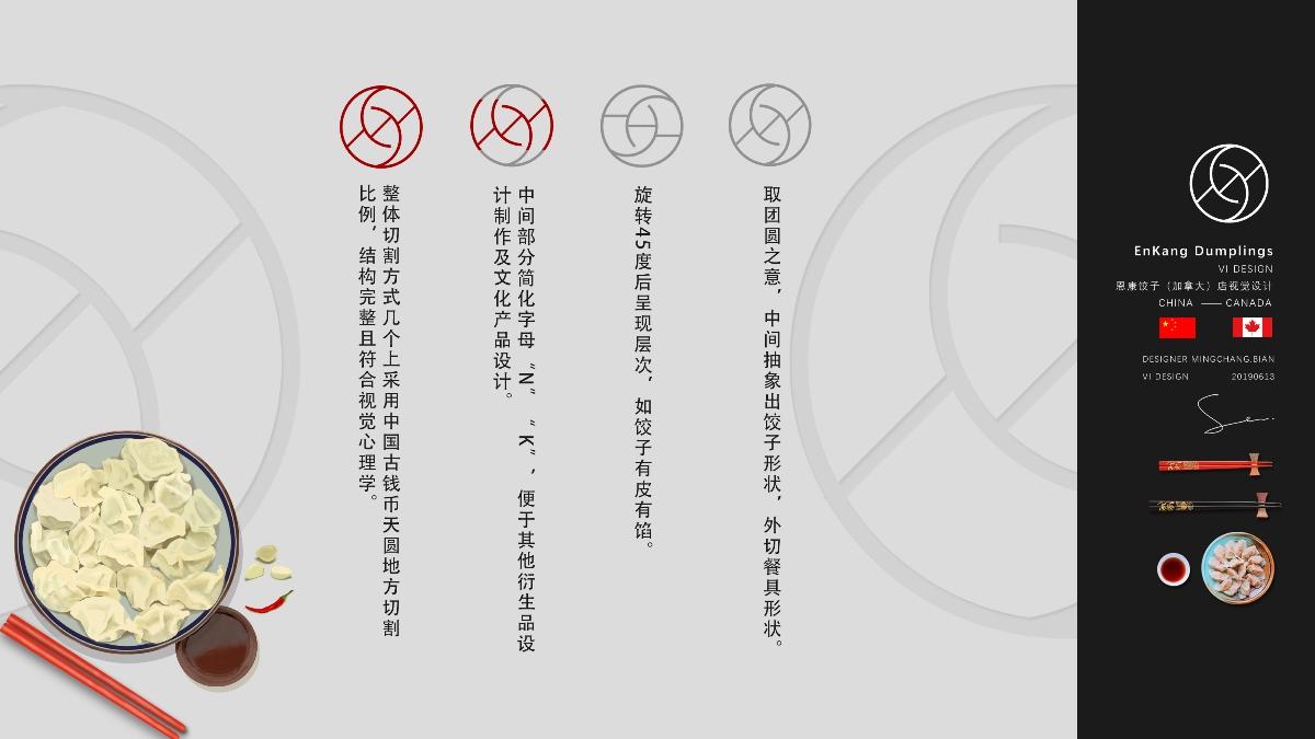 加拿大恩康饺子VI设计(独立设计)