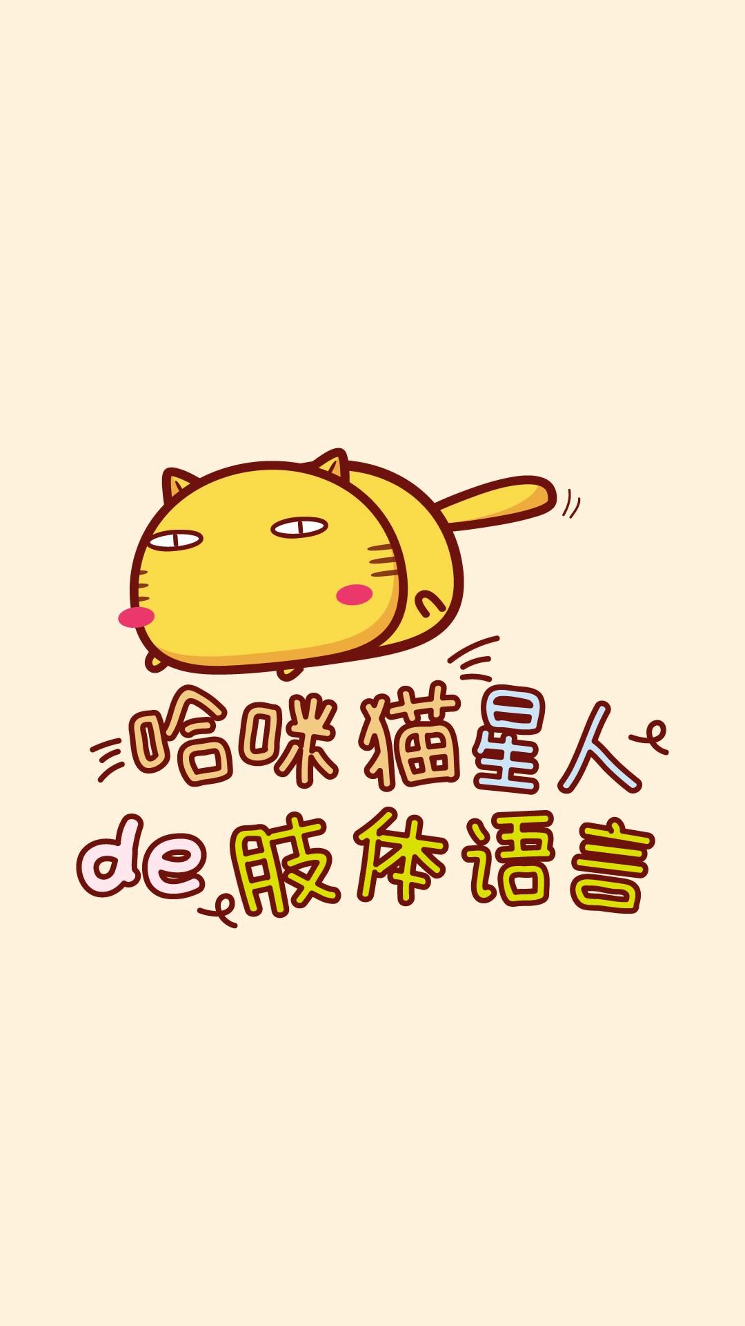 哈咪猫的的肢体语言