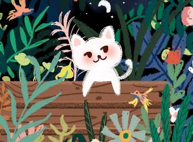 丛林中的猫