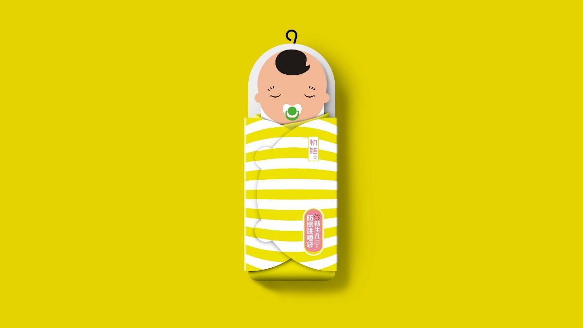 嬰兒睡袋包裝設計——楓橋設計