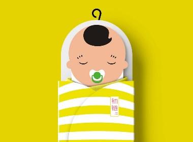 婴儿睡袋包装设计——枫桥设计