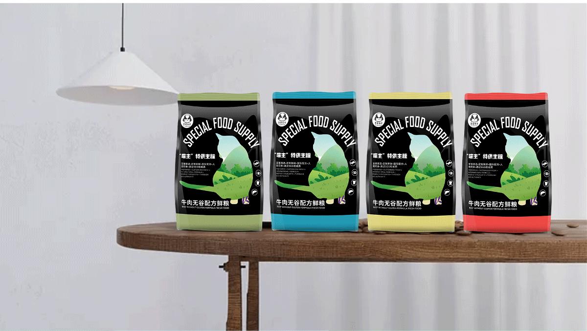 猫粮系列包装设计