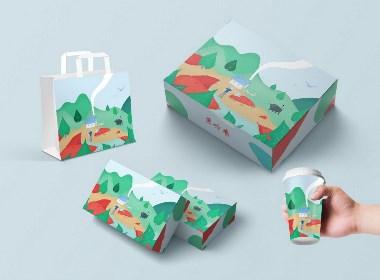 薯岭香食品包装设计