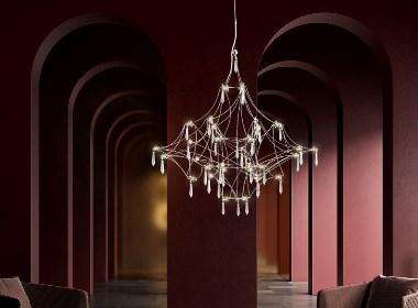 简约不简单,极富诗意的水晶灯饰艺术设计搭配格调