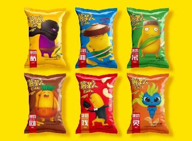 薯星人 薯条系列包装