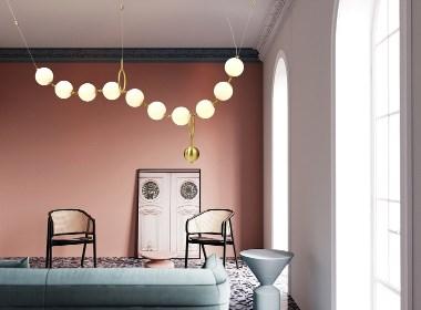 简约,最适合小宅的艺术灯饰设计 - 拾漫