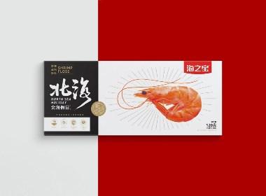 April作品「北海假日 」婴幼儿辅食鱼虾酥包装设计