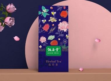 晨獅原創設計   丨   同仁堂旗下誠安堂花草茶包裝設計