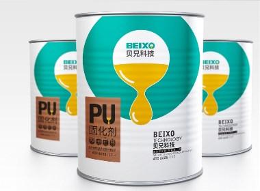 贝兄科技油漆固化剂品牌设计-太歌创意
