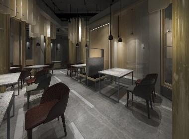 贵阳花溪尊品牛排商业空间设计|贵州商业空间设计|贵州工装装修设计公司