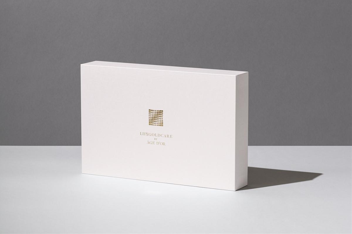 护肤霜硬纸盒礼盒包装设计|简约设计风