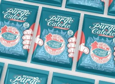 Purge Calorie -無脂雞胸肉丸包裝設計