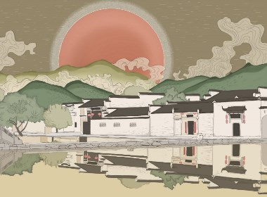 宏村有只红太阳