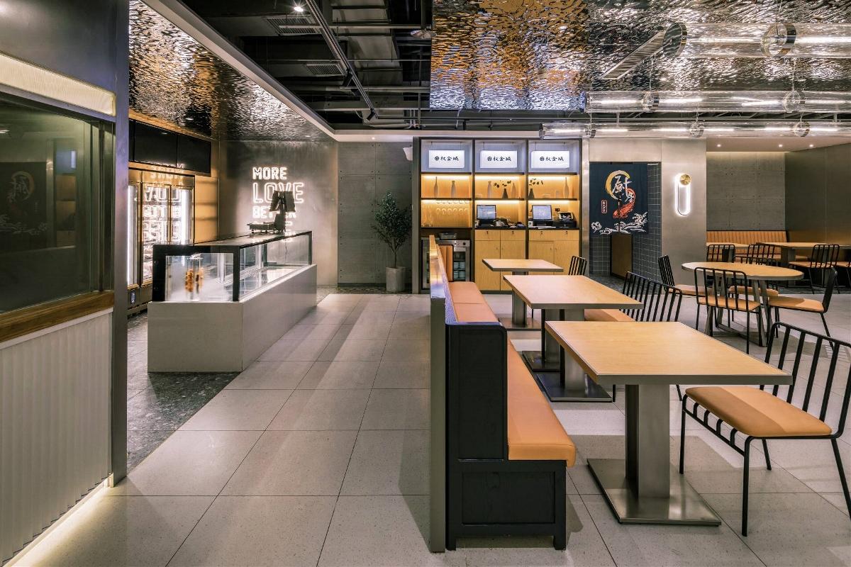华空间餐饮设计丨权金城国瑞店