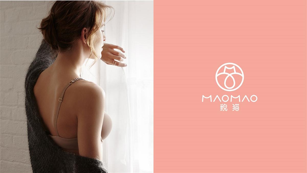 貌猫女性内衣品牌LOGO设计